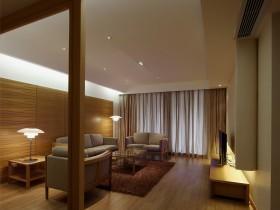 原木色小户型客厅装修效果图大全
