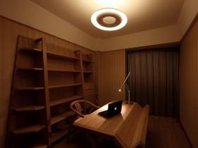 原木色书房装修效果图