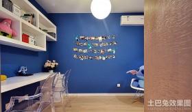 书房照片墙装饰效果图片