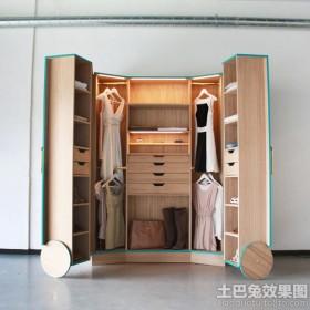 走入式衣柜设计图