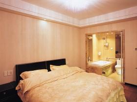 暖色调主卧室装修效果图