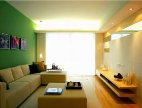 简约90平米两室两厅客厅装修效果图