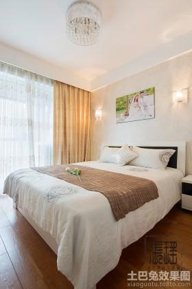简约婚房卧室装修效果图片欣赏
