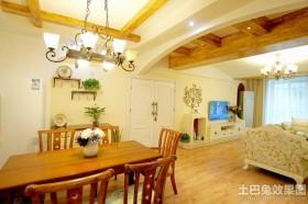 田园风格三居室装修效果图欣赏