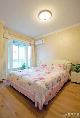 温馨田园卧室装修效果图片