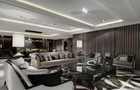 新古典风格客厅沙发茶几效果图片