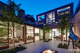 别墅庭院设计效果图欣赏