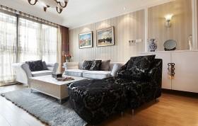 新古典主义风格装修客厅效果图