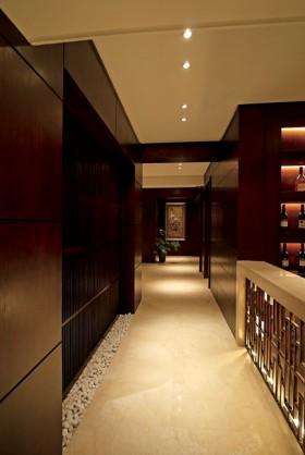 中式别墅走廊装修效果图