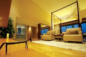 别墅大卧室木地板贴图