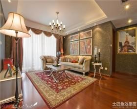 混搭风格两室两厅装修效果图欣赏