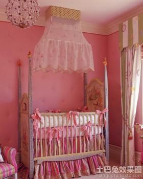 暖色调婴儿房装修效果图片