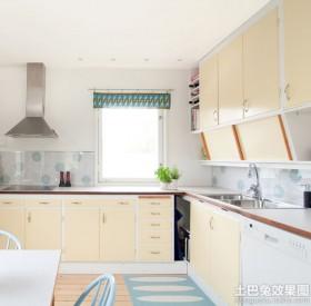 宜家风格厨房橱柜效果图