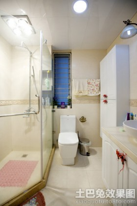 宜家风格淋浴房隔断设计