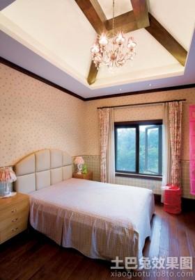 地中海风格别墅温馨卧室效果图