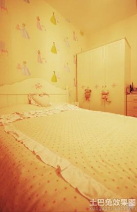 温馨田园儿童房装修效果图