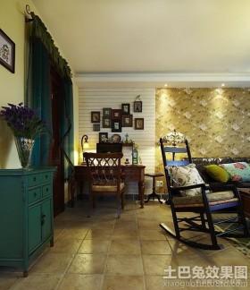 美式乡村风格室内装潢设计效果图