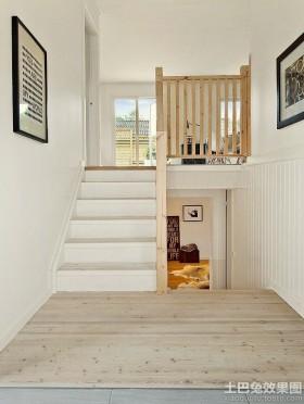 北欧风格小复式房屋装修效果图