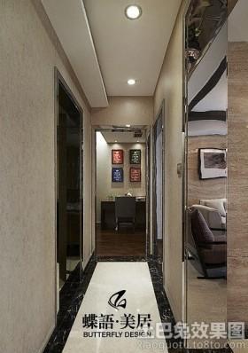现代三居室过道效果图