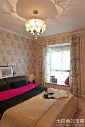宜家风格卧室飘窗装修设计