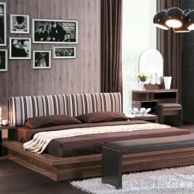 现代风格榻榻米床装修效果图