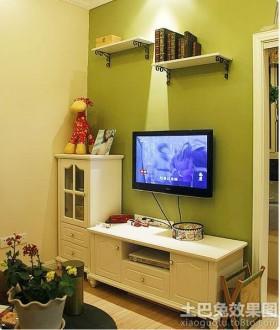 电视背景墙宜家电视柜设计图