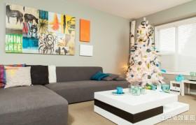 简约客厅圣诞树图片大全