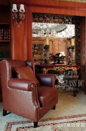 室内装潢设计真皮沙发图片