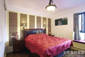 混搭风格婚房卧室装修效果图