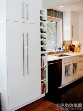 厨房酒架图片