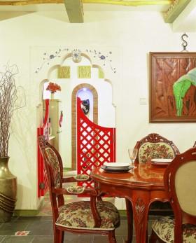 东南亚异国情调餐厅装修效果图