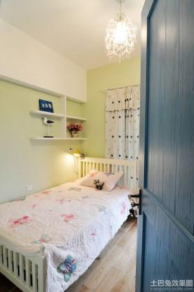 儿童房卧室背景墙灯具装修效果图大全2015图片_儿童房