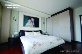 简约现代婚房卧室装修效果图