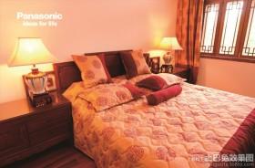 中式风格婚房卧室装修效果图