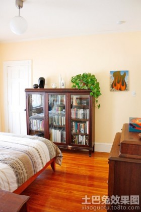 卧室书柜装修效果图片