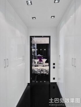 黑白走廊装修效果图