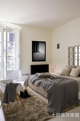一居室大户型卧室装修效果图