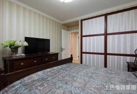 卧室实木电视柜设计图片