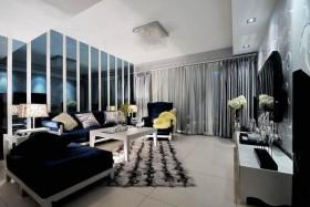 40平米小户型现代简约客厅装修效果图