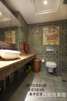 东南亚风格卫生间装修效果图片