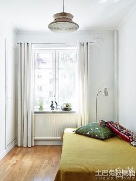 北欧风格小卧室装修效果图片