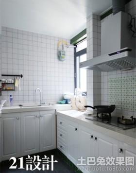 小厨房室内设计效果图大全-简约风格厨房装修效果图片 九正家居网