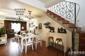 地中海风格客餐厅装修效果图