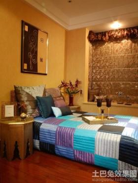 东南亚风格二居卧室装修