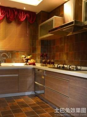 家居厨房墙砖效果图欣赏