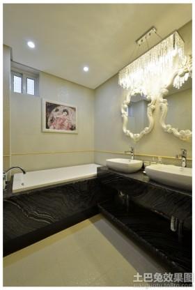 现代风格卫浴装修效果图