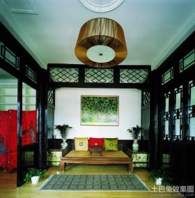 中式风格装修罗汉床图片欣赏
