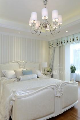 混搭风格纯白卧室装修效果图