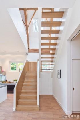现代简约室内扶手梯图片