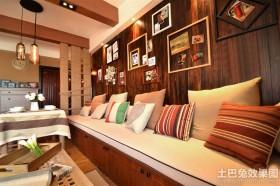 家庭装修沙发背景墙效果图